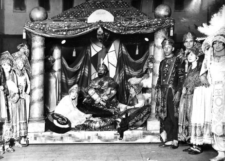 """""""Dream of Persia"""" fancy dress. Photo (c. 1920s) by Sam Hood (1872 - 1953), State Library NSW collection."""